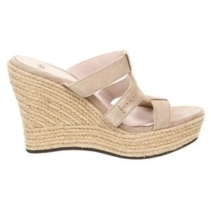 "Ugg ""Tawnie"" Suede Sandals"